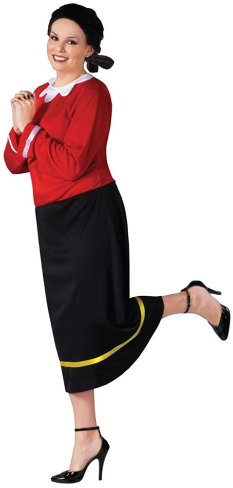 Picture of Popeye Olive Oyl Plus Size Adult Womens Costume