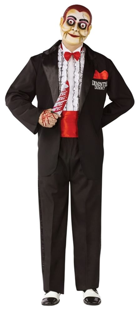 Picture of Demented Dummy Ventriloquist Adult Costume