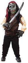 Picture of Skeleton Pirate Child Costume