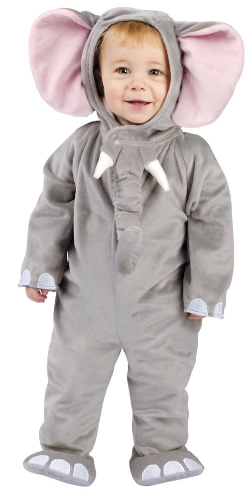 Picture of Cuddly Elephant Infant Costume