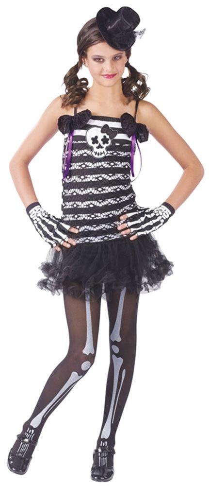 Picture of Skeleton Sweetie Child & Teen Costume