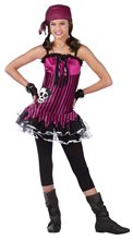 Picture of Rockin Skull Pirate Child Costume