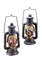 Picture of Light Up Skull Lantern