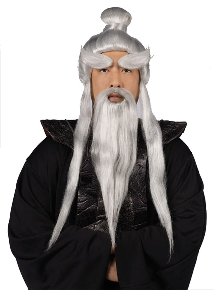 Picture of Sensei Wig and Beard Set