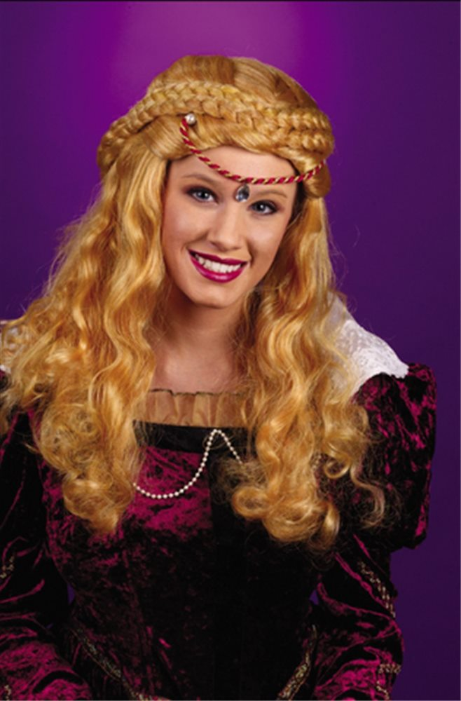 Picture of Renaissance Deluxe Blonde Wig