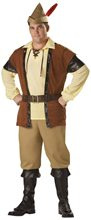 Picture of Robin Hood Plus Size Costume