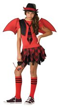 Picture of Delinquent Devil Tween Costume