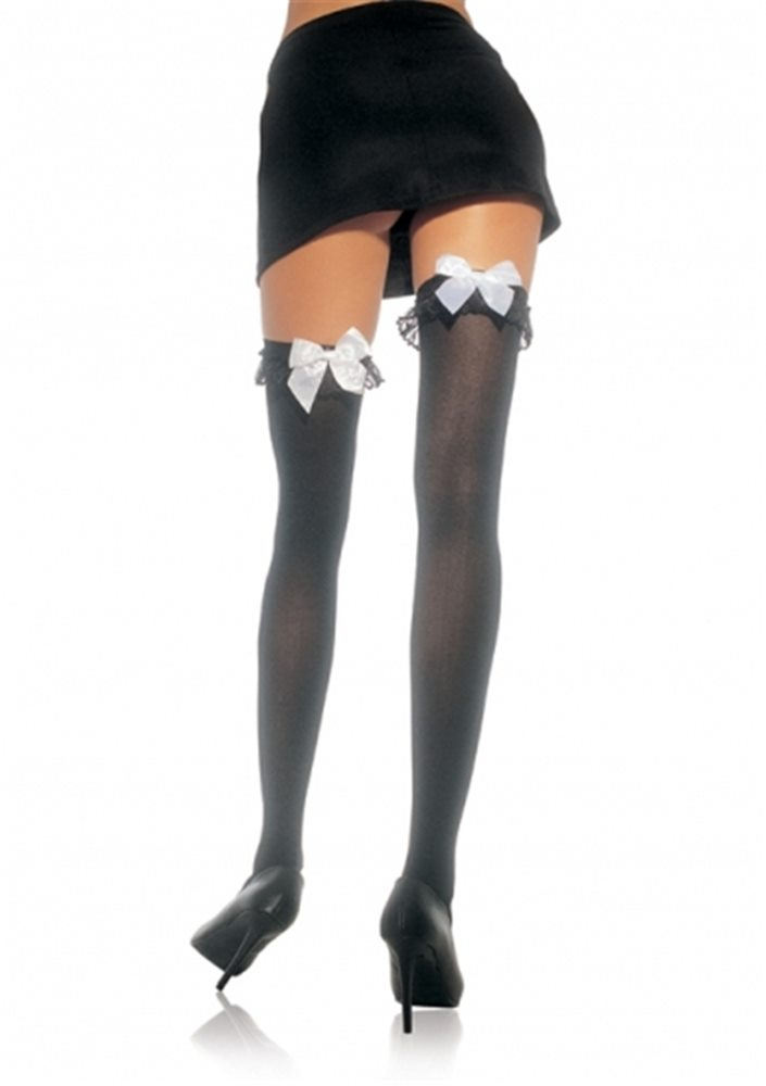 Picture of Thigh High Stockings with Ruffle