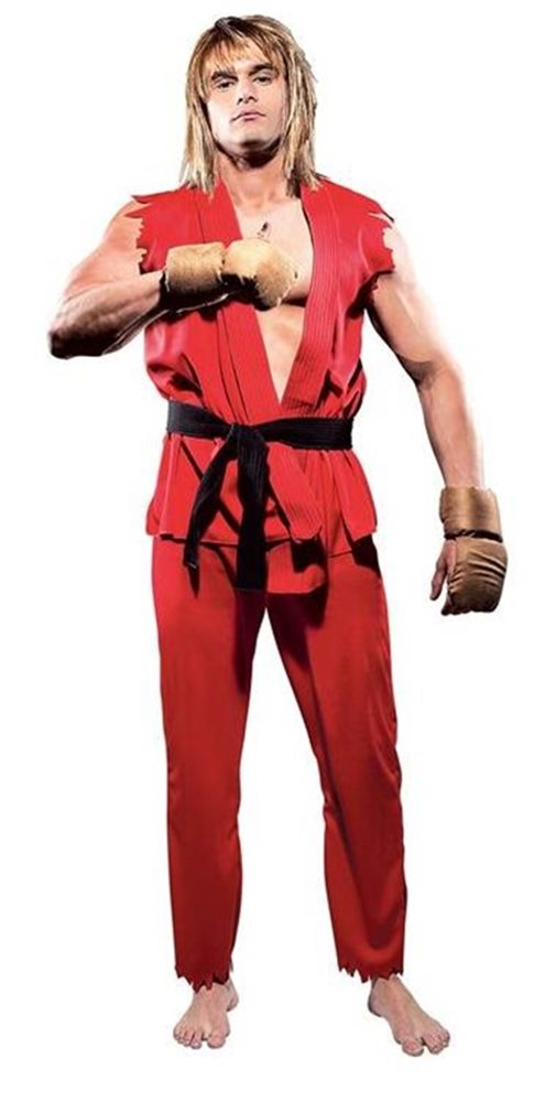Picture of Street Fighter Ken Adult Mens Costume