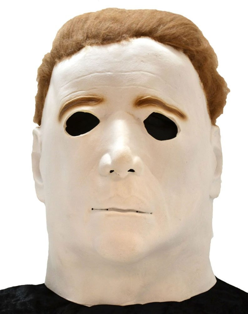 Picture of Michael Myers Adult Halloween Overhead Latex Mask