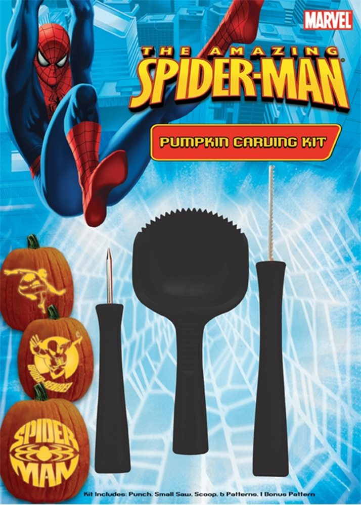 Picture of Spiderman Pumpkin Carving Kit