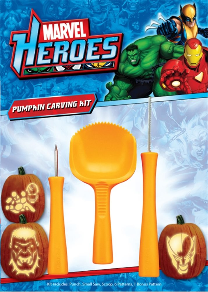 Picture of Marvel Heroes Pumpkin Carving Kit