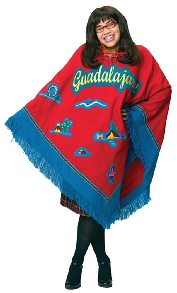 Picture of Ugly Betty Poncho Adult Costume