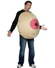 Picture of Single Giant Boob Adult Unisex Costume