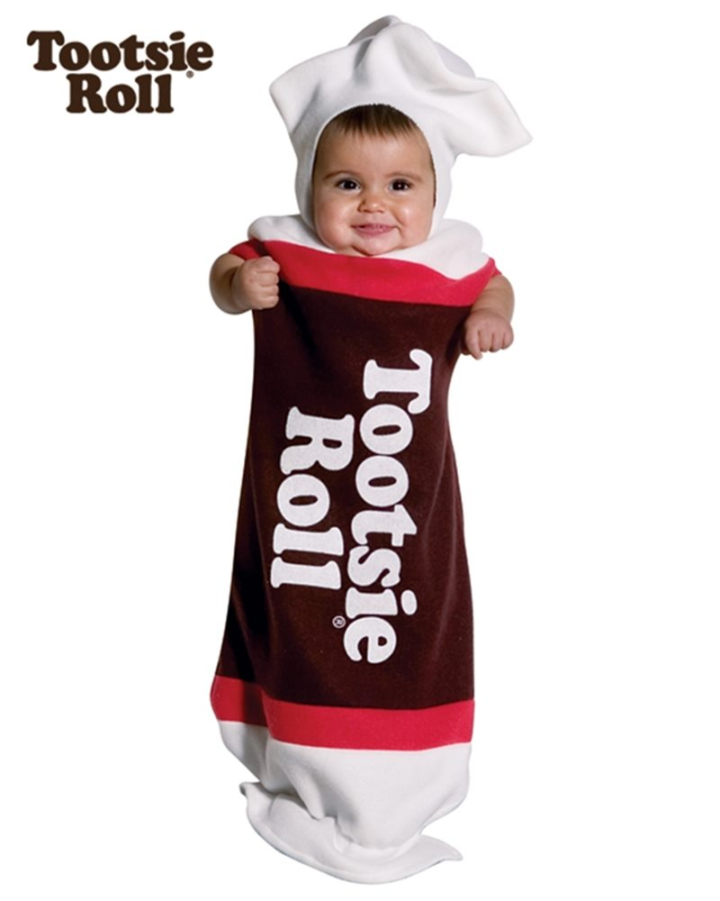 Picture of Tootsie Roll Baby Bunting Infant Costume