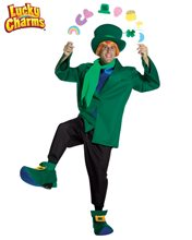 Picture of Lucky Charm Cereal Leprechaun Adult Mens Costume