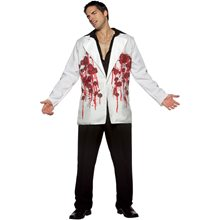 Picture of Bullet Hole Jacket Adult Costume