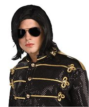 Picture of Michael Jackson Wig with Glasses