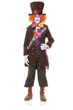 Picture of Electric Mad Hatter Deluxe Child Costume with Pants