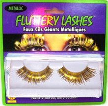 Picture of Metallic Eyelashes Gold