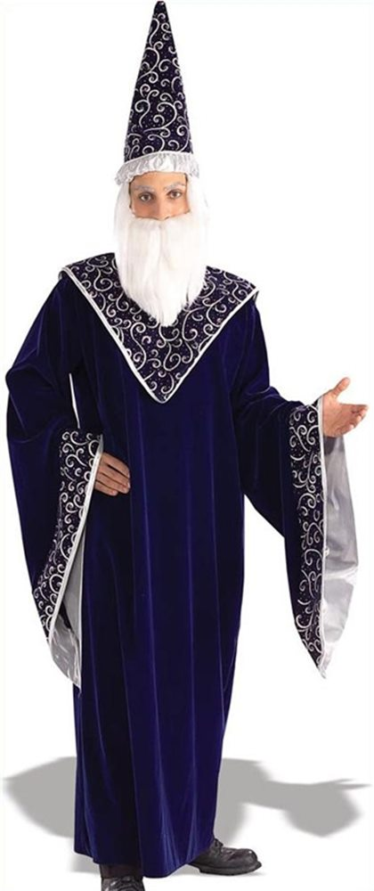 Picture of Deluxe Merlin the Magician Adult Mens Costume