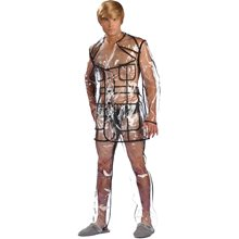 Picture of Bruno Clear Vinyl Suit Adult Mens Costume
