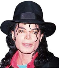 Picture of Michael Jackson Fedora Adult Hat