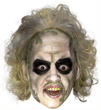 Picture of Beetlejuice Adult Mask with Hair