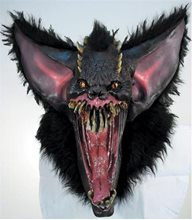 Picture of Gruesome Bat Latex Adult Mask