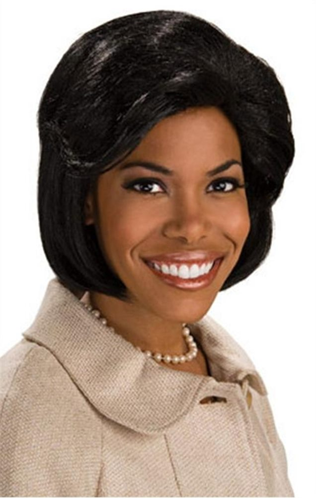 Picture of First Lady Michelle Obama Adult Wig