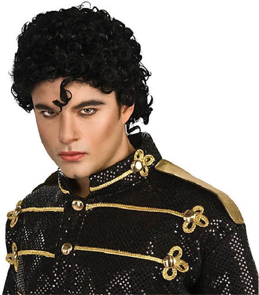 Picture of Michael Jackson Curly Adult Wig