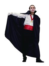 Picture of Full Length Black Nylon Adult Cape