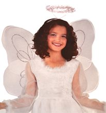 Picture of Marabou Angel Child Wings and Halo Set