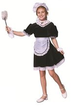 Picture of Deluxe French Maid Child Costume