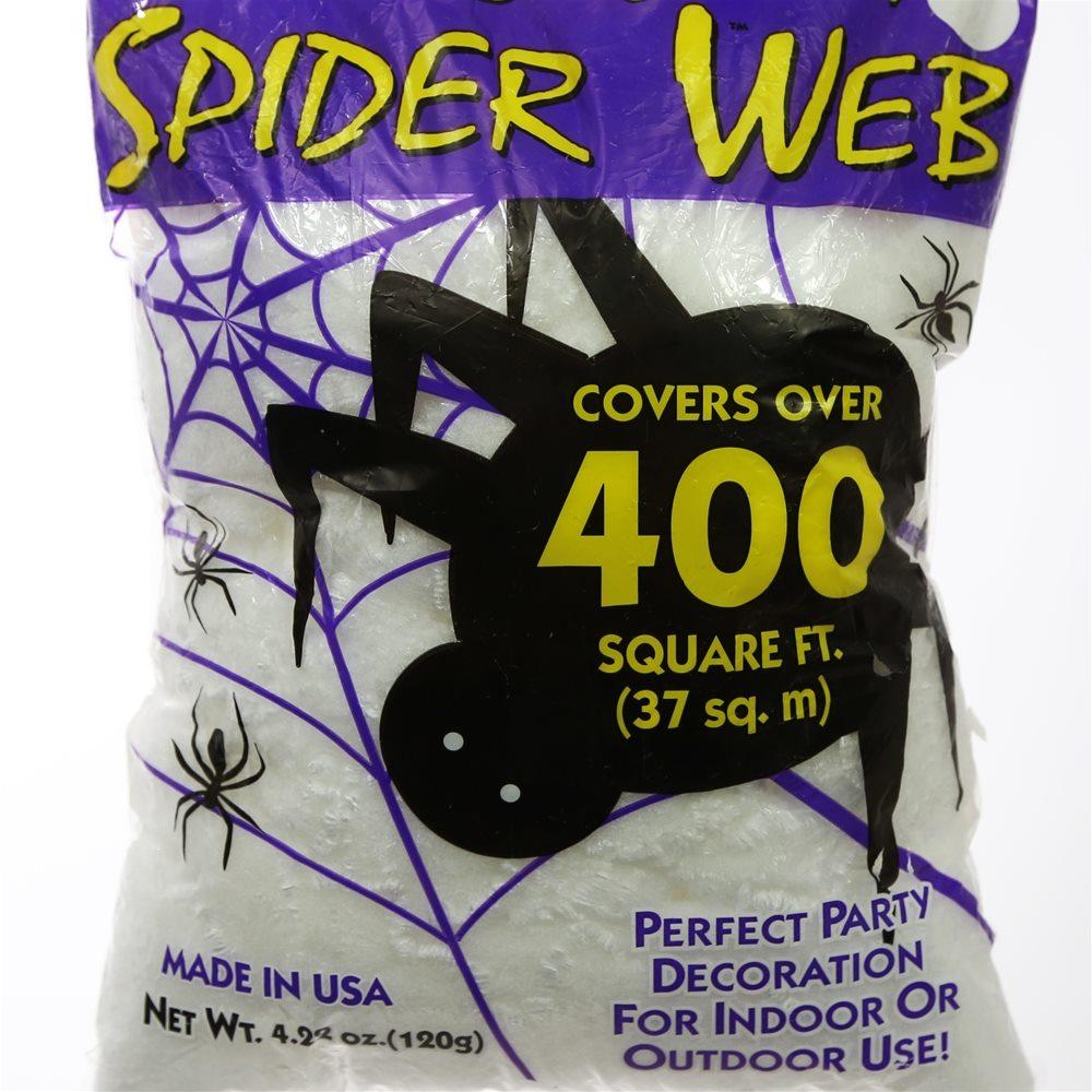 Picture of Super Stretch White Spiderweb 400 Square Feet