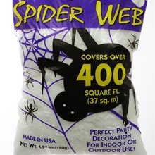 Picture of Super Stretch White Spiderweb 400 Square Feet