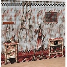 Picture of Chop Shop Bloody Scene Setter Decoration Kit