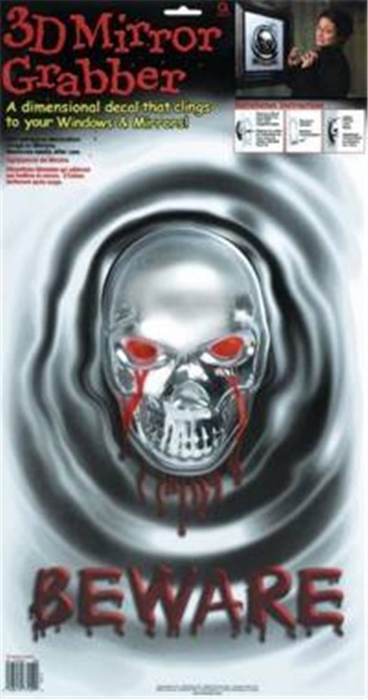 Picture of 3D Skull Mirror Grabber