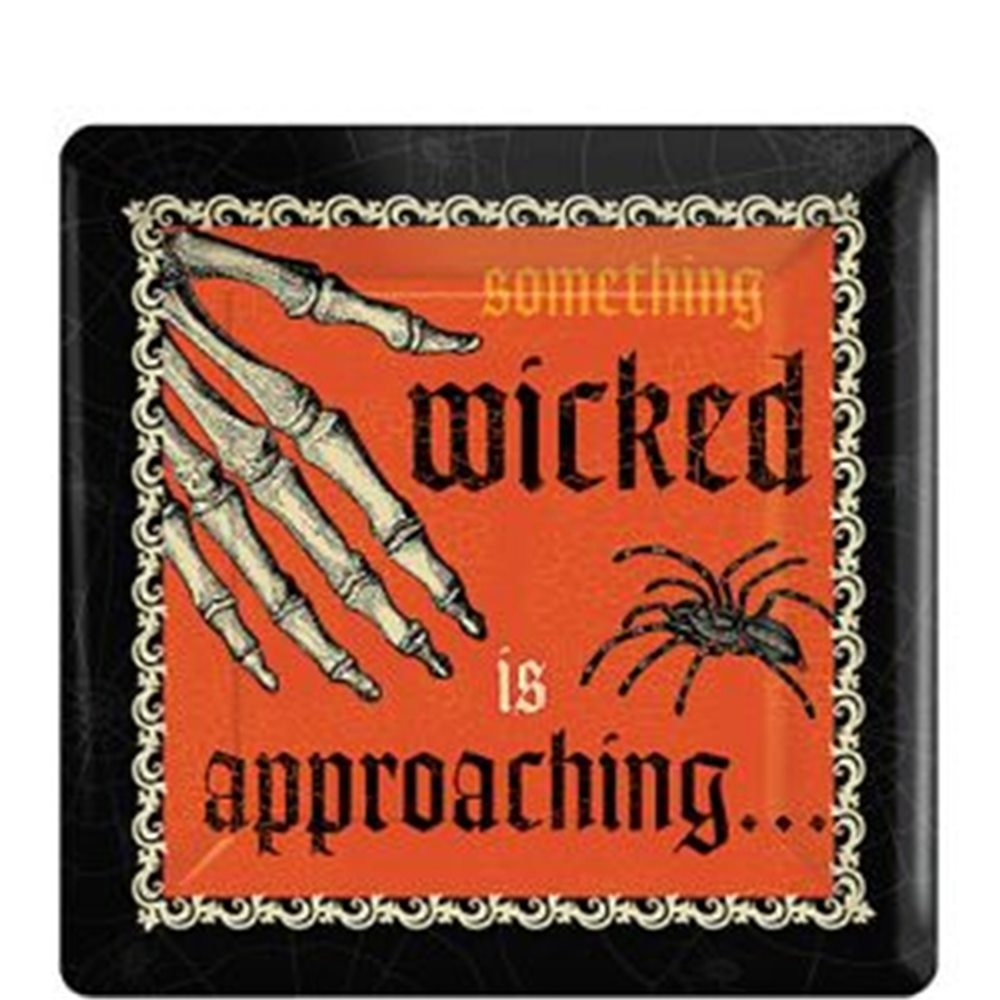 Picture of Something Wicked 7in Square Plates