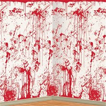 Picture of Bloody Wall Backdrop