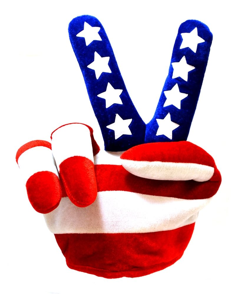 Picture of USA Finger Hat