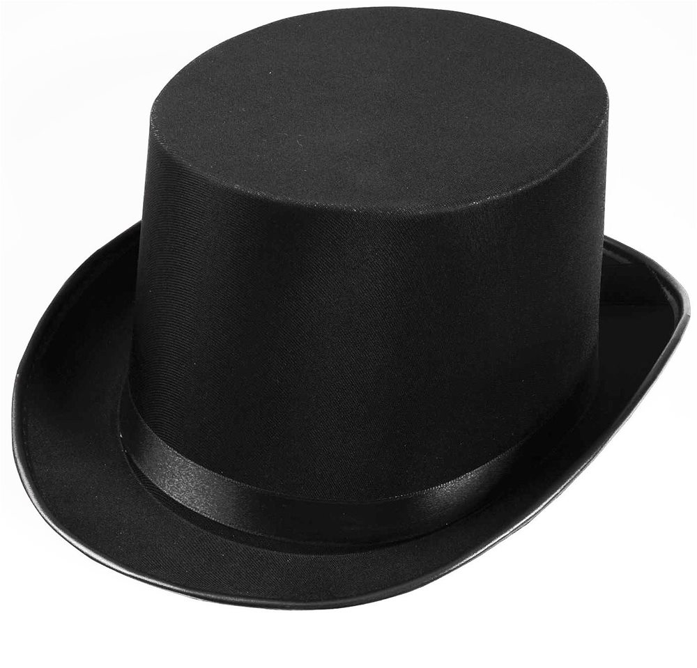 Picture of Satin Black Top Hat