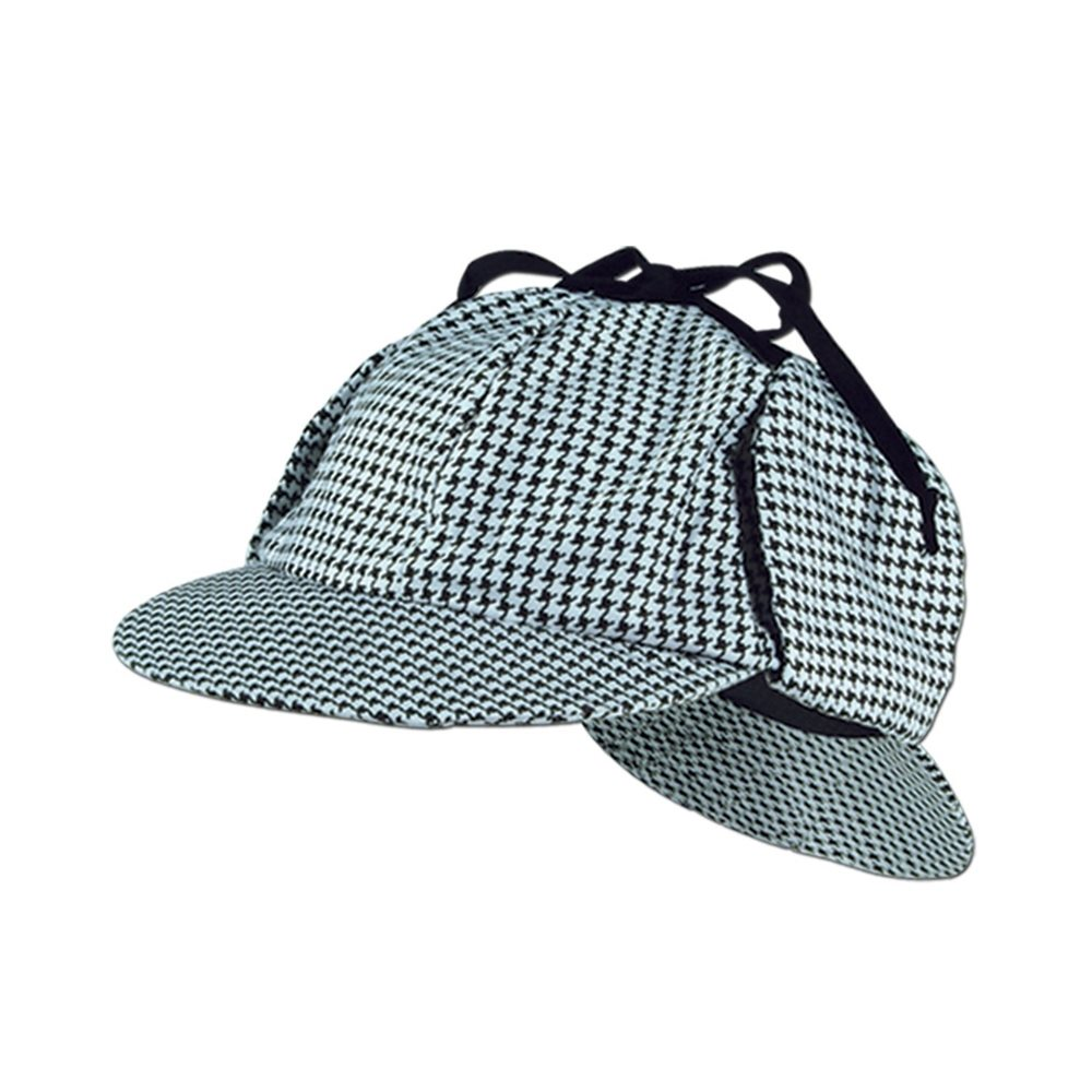 Picture of Sherlock Holmes Houndstooth Hat
