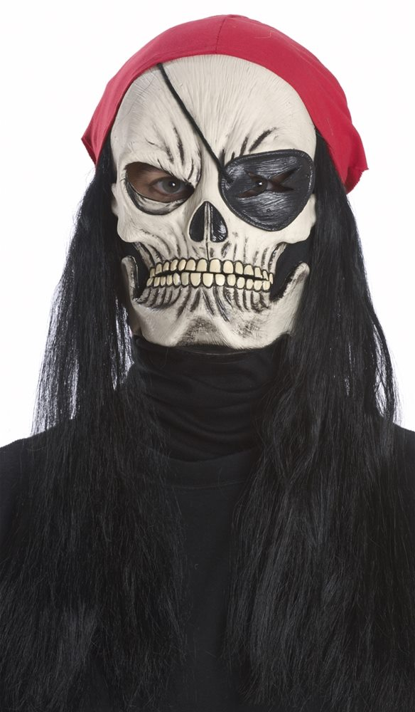 Picture of Jolly Roger Pirate Adult Mask
