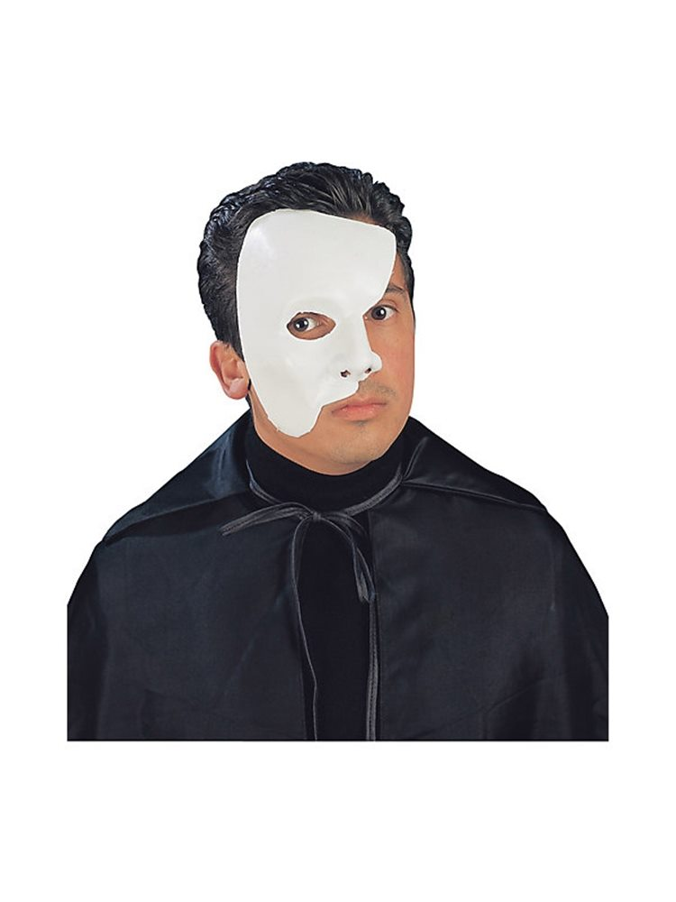 Picture of Deluxe Phantom Adult Half Mask