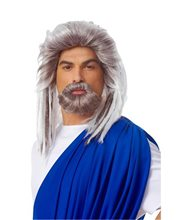 Picture of Neptune God Wig and Beard Set