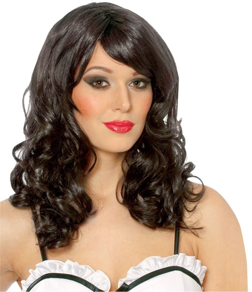 Picture of Black Lolita Adult Wig