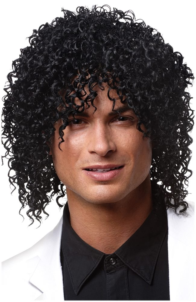 Picture of Black Shabba Adult Wig