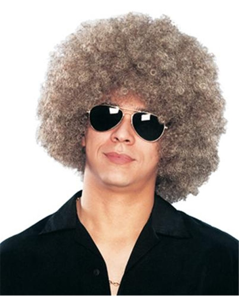 Picture of Disco Afro Mixed Adult Wig