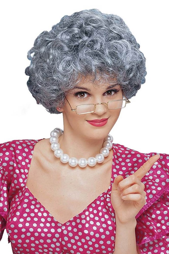 Picture of Mom Grey Adult Wig